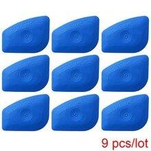 다국적 소프트 블루 스퀴지 릴 Chizler 비닐 라벨 긁어 도구 자동 스티커 데칼 스크린 인쇄 기호 공예 A25 만들기
