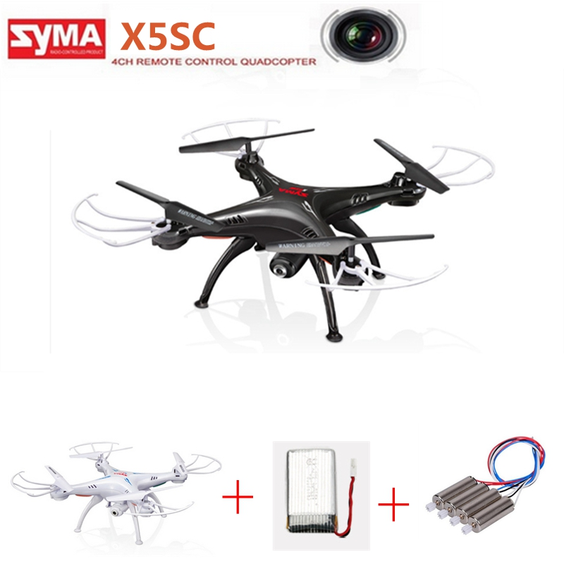 Original Syma X5sc Rc Drones With Camera Hd Rc Helicopter Flying Camera Dron Professional Drone Remote Control Toys For Children