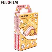 Yeni Fujifilm 10 yaprak Instax Mini Gudetama anında Film fotoğraf kağıdı Instax Mini 8 7s 9 25 50s 90 SP 1 SP 2 kamera