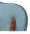 Inverno bebê anti rolo travesseiro de espuma de memória macio bonito da apple forma baby sleep cabeça posicionador prevenção cabeça chata travesseiro ortopédico