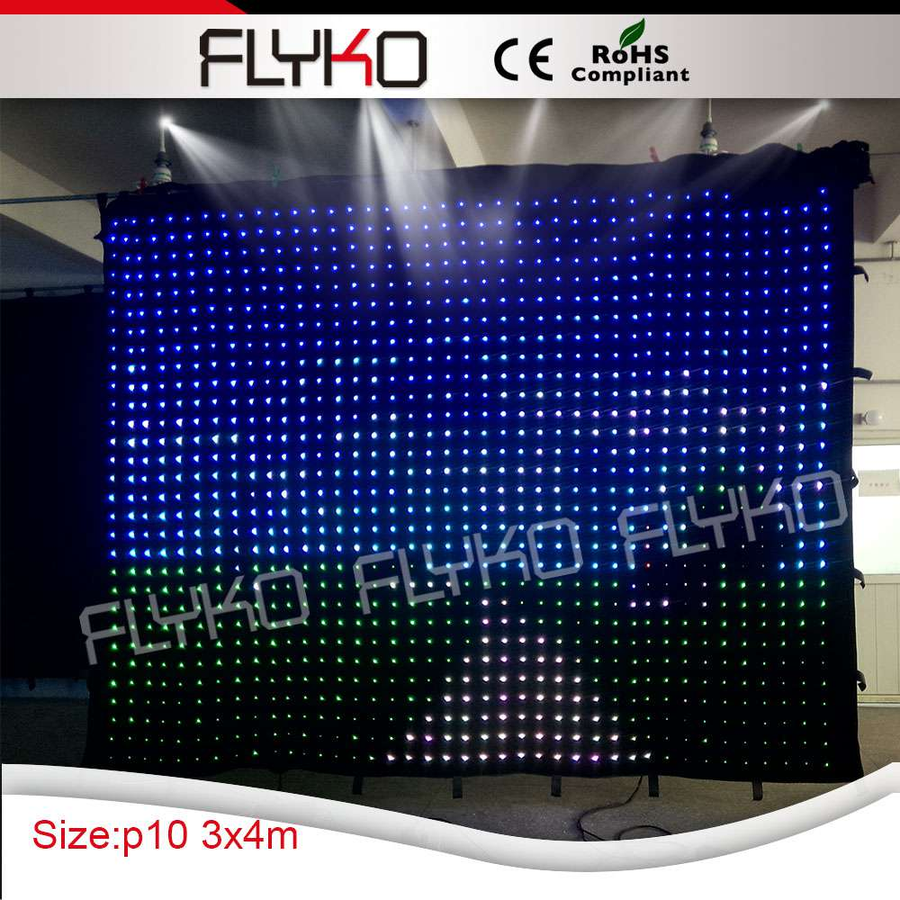 Online Shop Chinese Sexy Video Free Shipping FLYKO P10 3*4m LED Video  Curtain ,DMX Curtain With Controller, Led Curtains For Sale | Aliexpress  Mobile