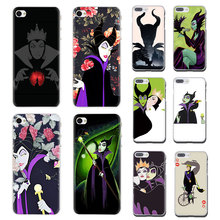 Branca de neve berry Maleficent Rígido telefone caso capa para iphone 5 5s 6 6s 7 8 plus X XR XS MAX 11 pro Max(China)