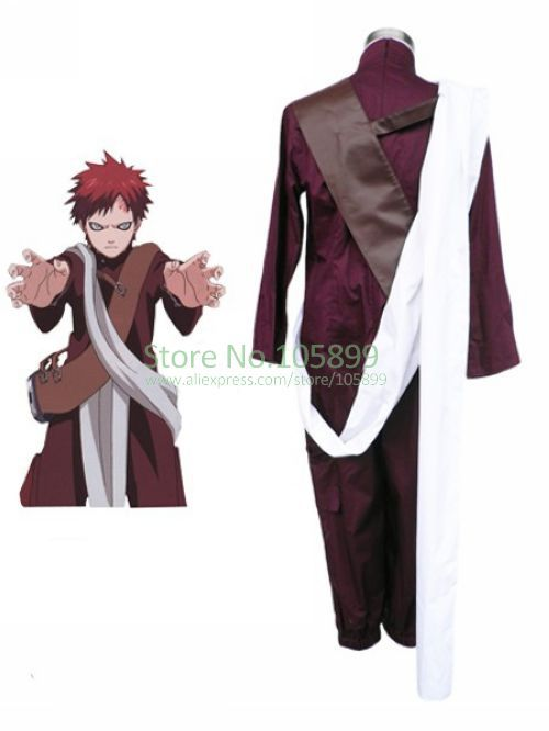 font b Naruto b font Gaara 3th font b Cosplay b font Costume