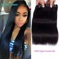 Brazilian Virgin Hair Straight 3Pcs Brazlian Hair Weave Bundles 7A Rosa Queen Hair Products Brazilian Straight Hair ExtensionS