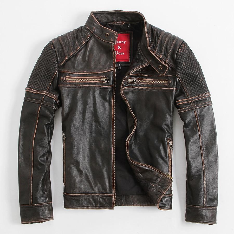 Mens heavy leather jackets