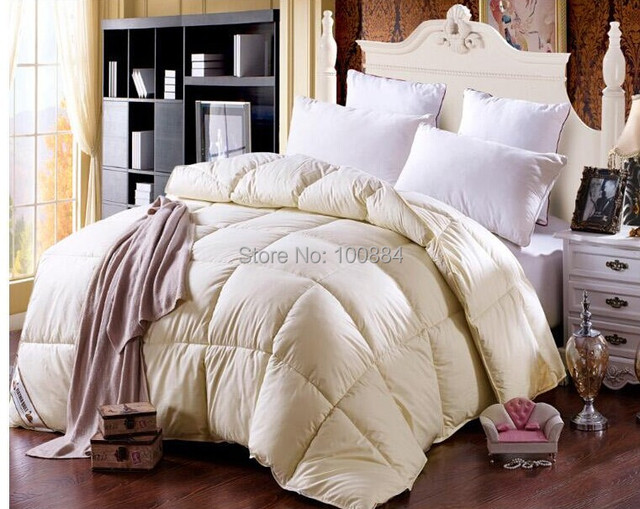 220*240 king size winter duck down comforter quilt,winter duck ... : duck feather quilt king size - Adamdwight.com