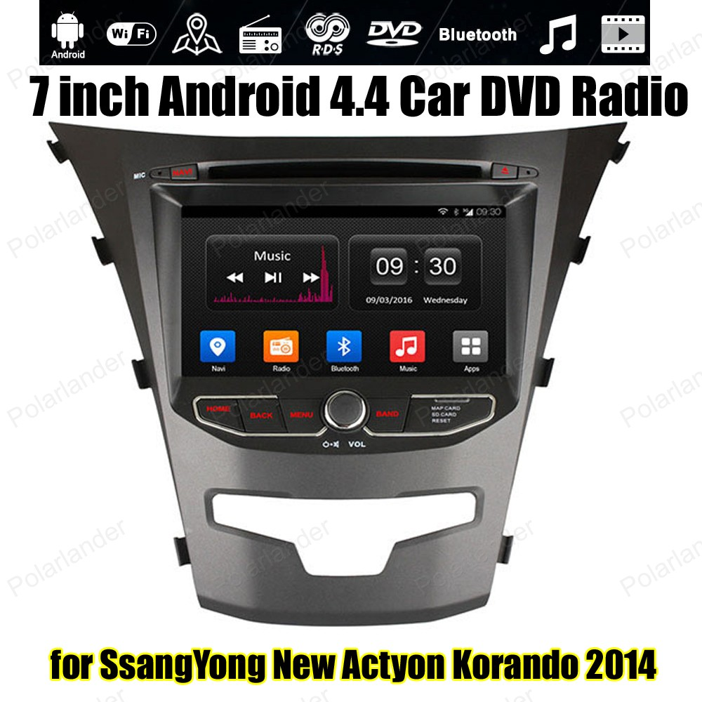 Android4 4 7 inch Car DVD 1024 600 radio Support font b TPMS b font OBDII