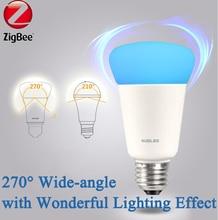 Zigbee Light Link E27 RGBW Bombilla Colorido Auto Bombilla Wifi Led de Control Remoto Casa Inteligente KUDLED Inteligente Bombillas Tonalidad