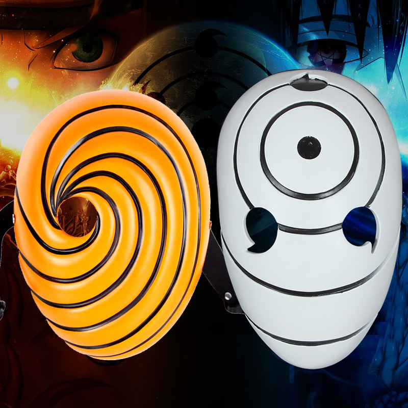 Kids Costumes & Accessories New Full Face Naruto Uchiha Madara/uchiha Obito/tobi Japanese Cosplay Masquerade Halloween Mask Anime Cartoon