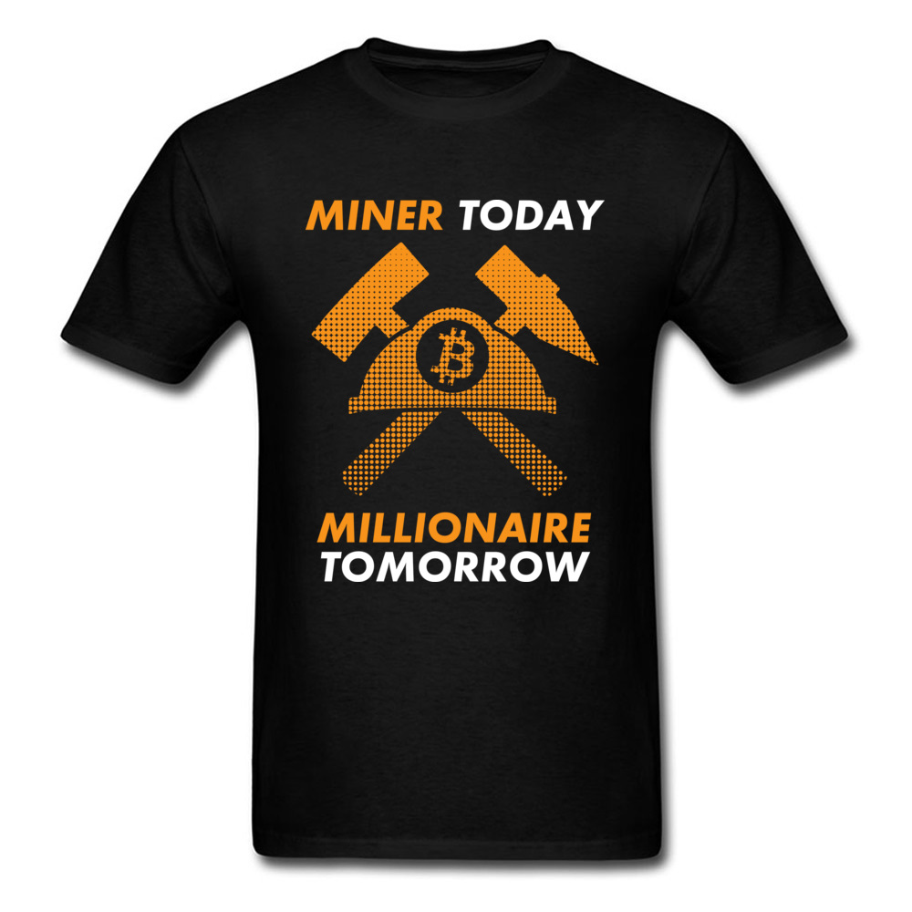 Millionaire Tomorrow Tees Cheap O Neck Back To The Future T-Shirt 100% Cotton Student T Shirt Printed Tops & Tees Drop Shipping