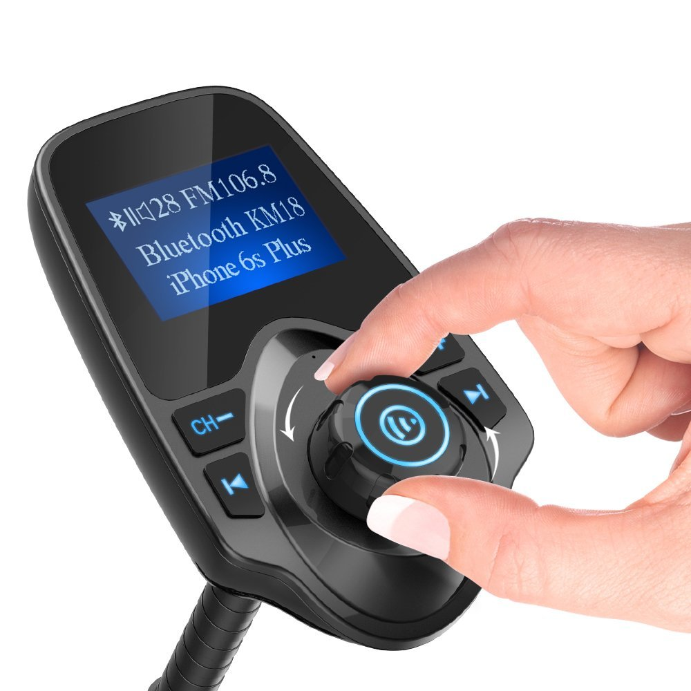 fm transmitter bluetooth car kit lcd display. Black Bedroom Furniture Sets. Home Design Ideas