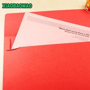 Image 5 - 50 ピース/ロット 162X230mm 色洋式封筒 A5 ブランク法案受信バッグギフト封筒ペーパー Enveloppe