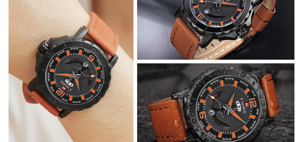 HTB1XPfAt4SYBuNjSsphq6zGvVXa6 NAVIFORCE Men's Fashion Business Quartz Wristwatches Creative Sports Watches Men Luxury Brand Watch Clock Male Relogio Masculino