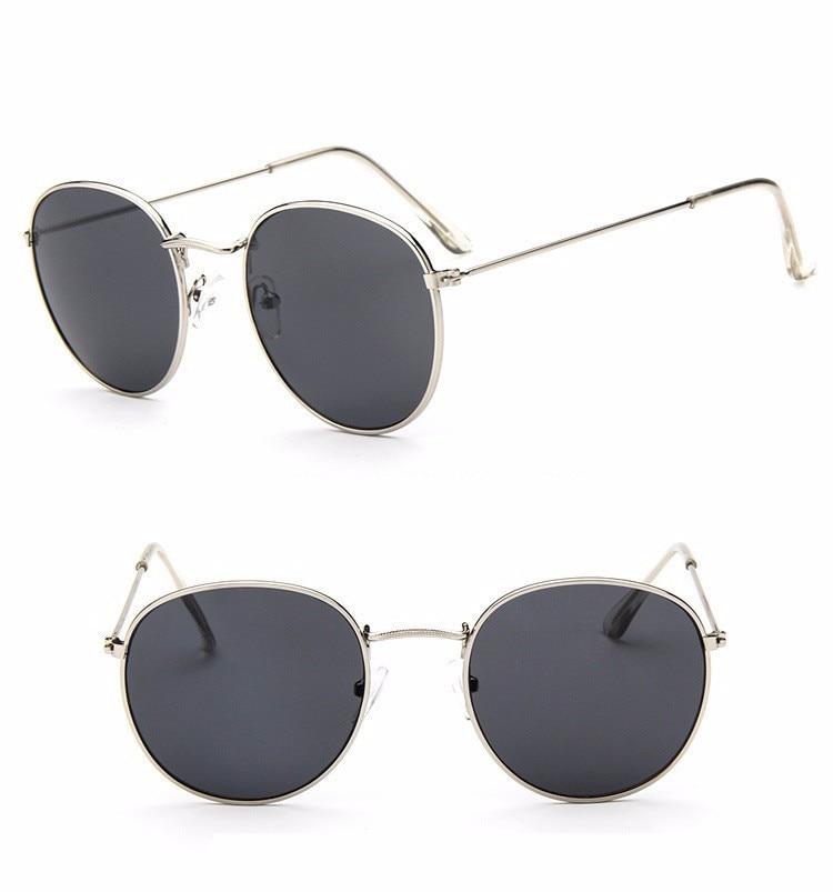 Luxury Brand Design Round Aviator Sunglasses Women Retro Brand Sun Glasses For Women Female Lady Sunglass Driving Mirror Glasses (18)