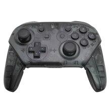 20 PCS Sem Fio Bluetooth Controlador Gamepad Joystick Preto Transparente Para Nintendo console do Switch para PC