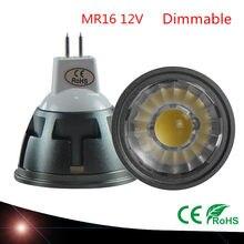 Nova chegada de alta qualidade led holofotes mr16 6 w 9 12 12 v lâmpada do teto regulável led natal emissor legal quente branco lâmpada