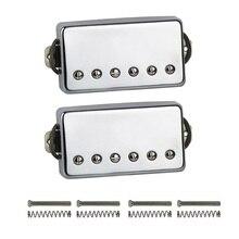 Novo alnico 5/v humbucker captador da guitarra elétrica chrome pescoço ou ponte picape escolher para lp estilo guitarra
