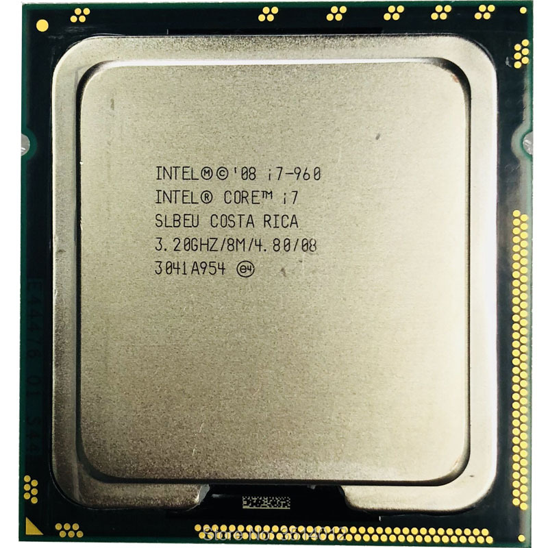 Intel Core i7 960 i7 960 3 2 GHz Quad Core CPU Processor 8M 130W LGA