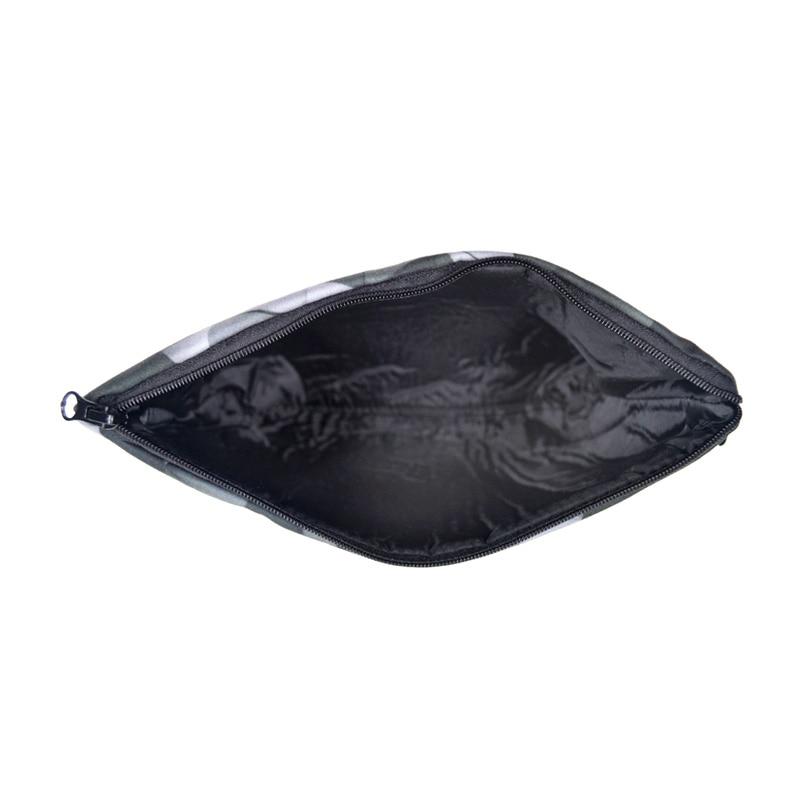 Под девятнадцать 2017 Для женщин и Для мужчин Макияж Сумки 3D печать косметический Сумки большой Размеры Макияж Организатор путешествия туалетных Чехол подарок сумка