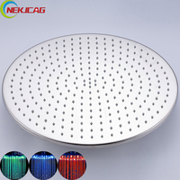 8 10 12 16 20 inch Shower head Chrome Polish Round Shower Head faucet Wall Mounted Ceiling Mounted Faucet