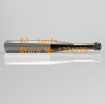 1pcs M2*0.4*D4*50 alloy Micro diameter thread milling cutter,milling teeth cutter carved CNC tools,Carbide thread milling