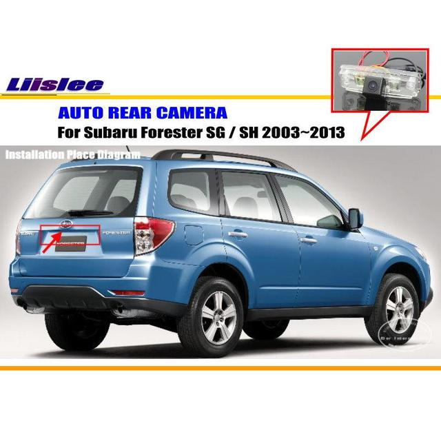 Liislee Car Rear View Camera For Subaru Forester Sg Sh 2003 2013