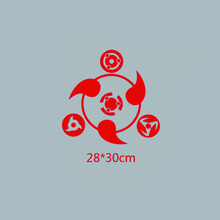 Sharingan NARUTO T-shirt Sweater thermal patches for clothing