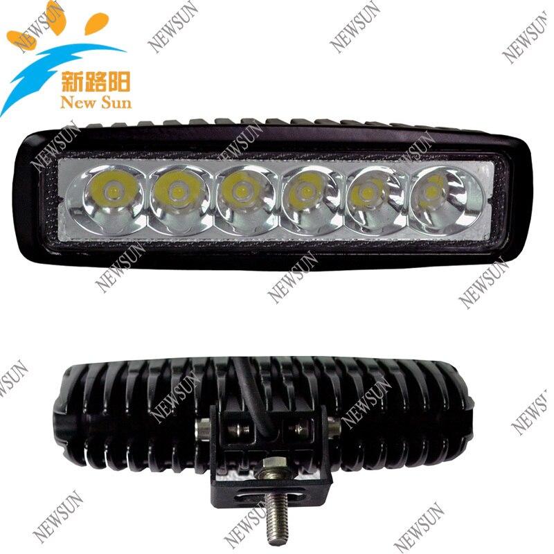 18W flood LED Work ATV 4X4 Off Road Light Lamp Fog Driving Bar For 4x4 Offroad