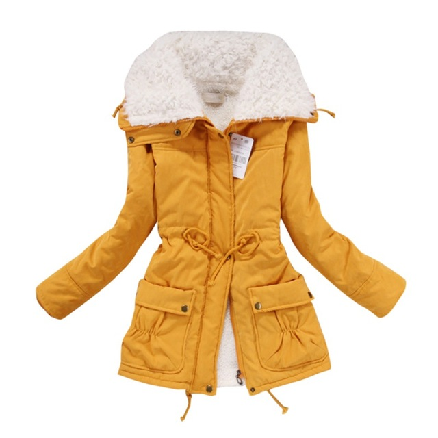 New Women Lady Thicken Warm Winter Coat Hood Parka Overcoat Long Outwear Jacket