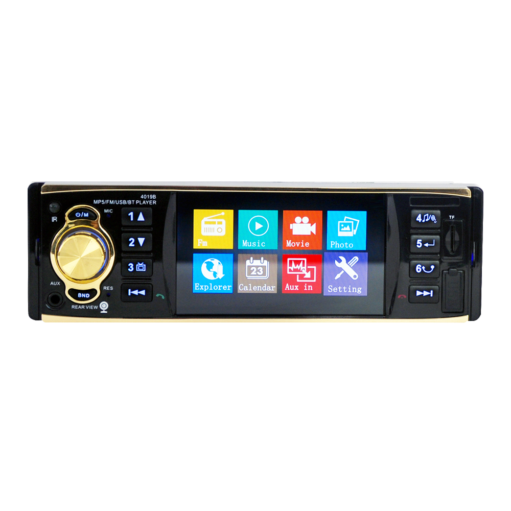 Image 2 - 4019b1Din 12V 4.1inch Radio Tuner BT  MP4/MP5 Vehicle player Vehicle MP5 multifunctional player  BT  MP3 player-in Car Radios from Automobiles & Motorcycles