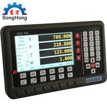 SINO XINHE новейшая модель продукта SDS5-4VA/5 V Высокоточный цифровой дисплей метр общего назначения NC фрезерный станок
