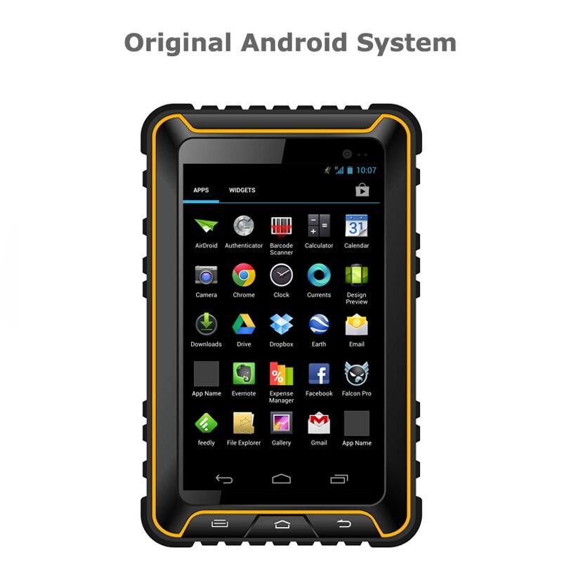 IP67 Original Rugged waterproof Android tablet PCs with quad core 7 HD GPS FM NFC call phones Light E-Compass Proximity sensor