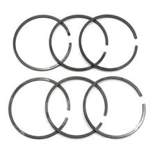 6PCS 40mm Piston Ring Kit For HUSQVARNA 41 141 142 Chainsaw # 530029982