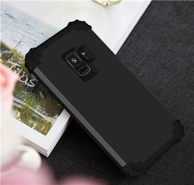 Heavy Duty Hybrid Case For Samsung Galaxy S9 S9Plus Shockproof Armor Rugged Case Cover Hard PC + Soft Rubber Silicone Phone Case (15)