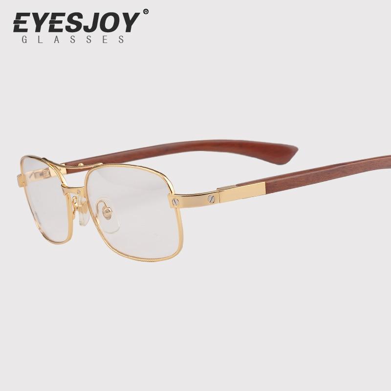 Gold Frame Designer Glasses : wooden eyeglasses frames hand made eyeglass frame designer ...