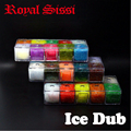 10colors/box fly tying Prism ICE DUB with luxury DISPENSER sparkle dubbing synthetic Fly Tying Materials for Nymph scud flies