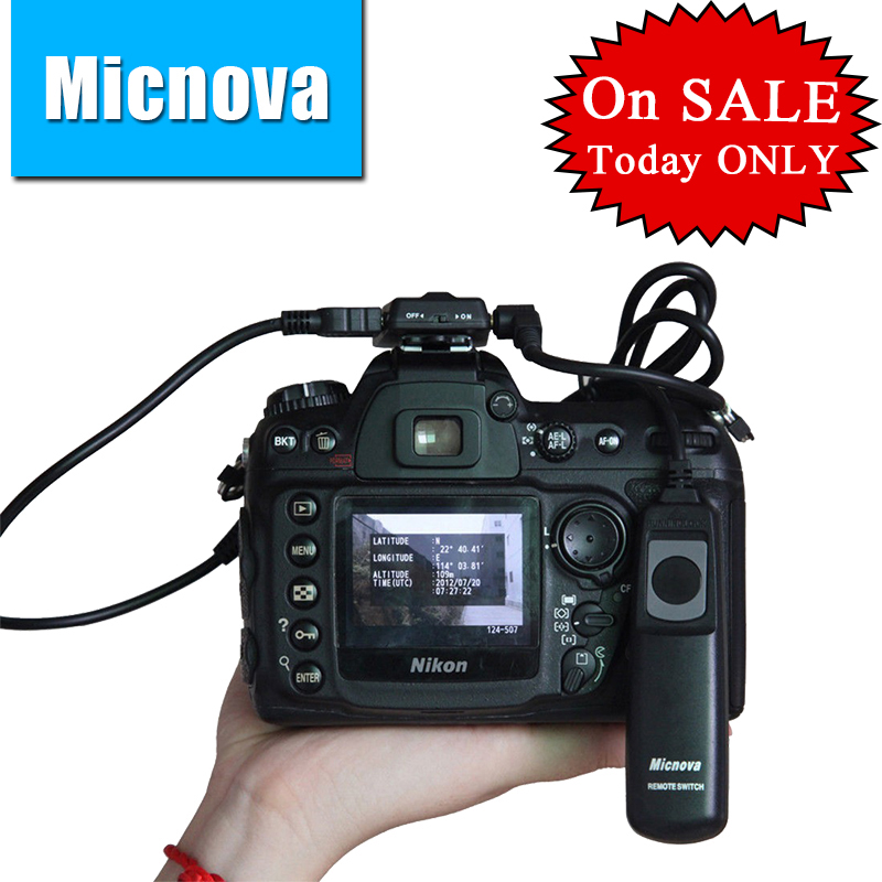 Micnova GPS-N Pro камерасы GPS Tracker Receiver Navigation үшін Nikon D800 D3200 D90 D7100 D5200 D4 D600 D5000 D7000 D300 D300S