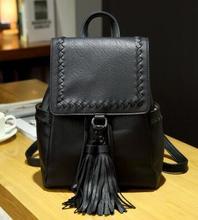 2016 новый модный кисточкой рюкзак женская сумка контракт шутник характер BaoChao