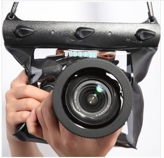 Tteoobl GQ 518L Photo Camera Waterproof Dry Bag Underwater Diving Housing Case Pouch Swimming Bag for Canon Nikon Sony DSLR