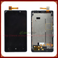 For Nokia lumia 820 LCD display + touch screen Full Complete Set with Frame Free shipping