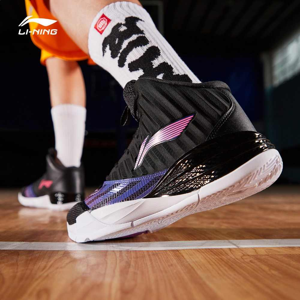Li Ning Men On Court Basketball Shoes Cushion Bounce LiNing CLOUD TUFF RB Wearable Sport Shoes Sneakers ABPP003 SJFM19