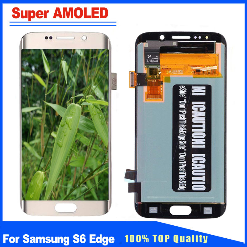 100% New Replacement For Samsung Galaxy S6 Edge G925 G925F G925A LCD Display Touch Screen Digitizer Full Assembly 100% New Replacement For Samsung Galaxy S6 Edge G925 G925F G925A LCD Display Touch Screen Digitizer Full Assembly