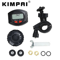 KIMPAI Universal Motorrad Tire Pressure Monitoring Gerät TPMS Wasserdichte Drahtlose System Motorrad Reifendruck Systeme
