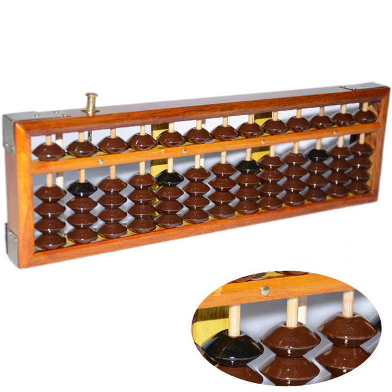 все цены на Japanese Soroban Style Wooden Abacus Frame Beads Classic Ancient Calculator new онлайн