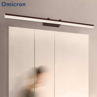 Omicron Modern LED Acryl Wall Lamp Bathroom Led Mirror Light 40CM 60CM 80CM 100CM Wall Sconces Light With Switch Indoor Lighting