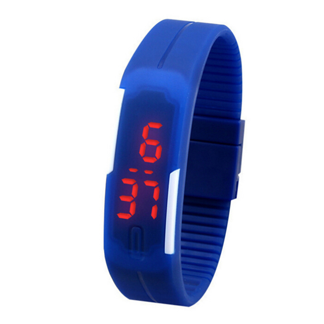 Светодиод спорта браслет watch наручные часы купить часы тиссот по интернету