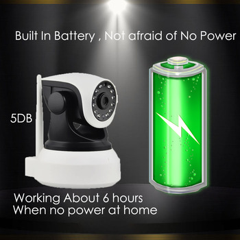 3G 4G Camera Built-in Battery GSM SIM Card Camera Wireless WIFI Home Security 1080P HD Surveillance Video IP Camera 6