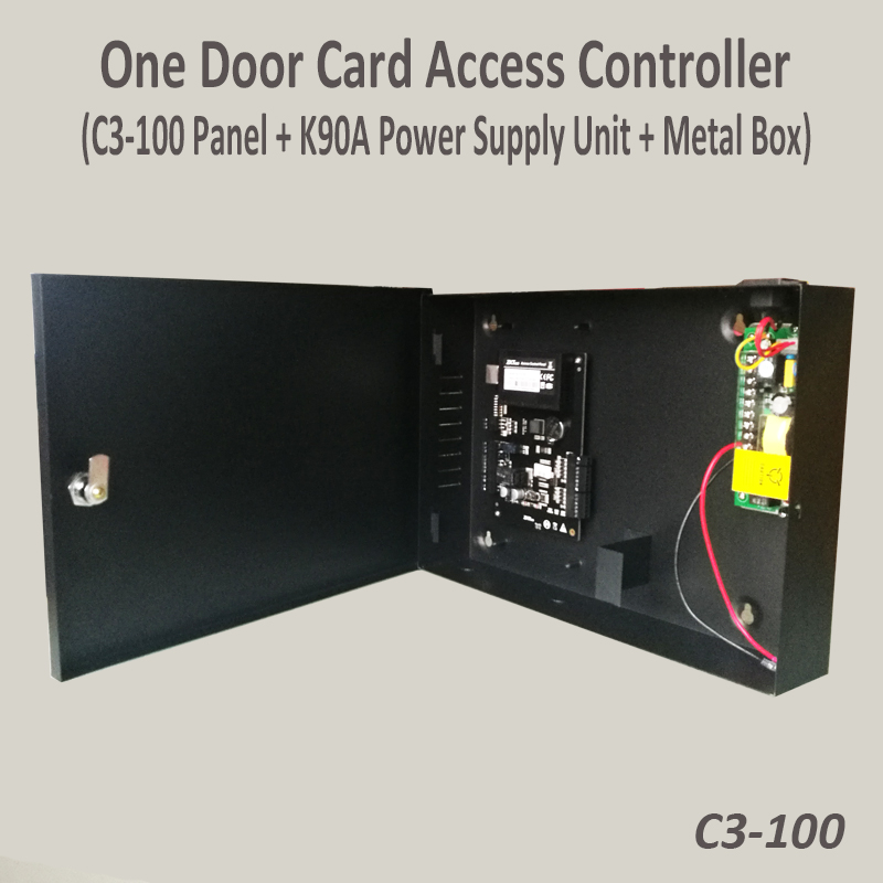 ZK C3-100 Tcp/Ip Rfid Access Control System One door Security Access Controller with 12V5A back Up Battery function power unit ZK C3-100 Tcp/Ip Rfid Access Control System One door Security Access Controller with 12V5A back Up Battery function power unit