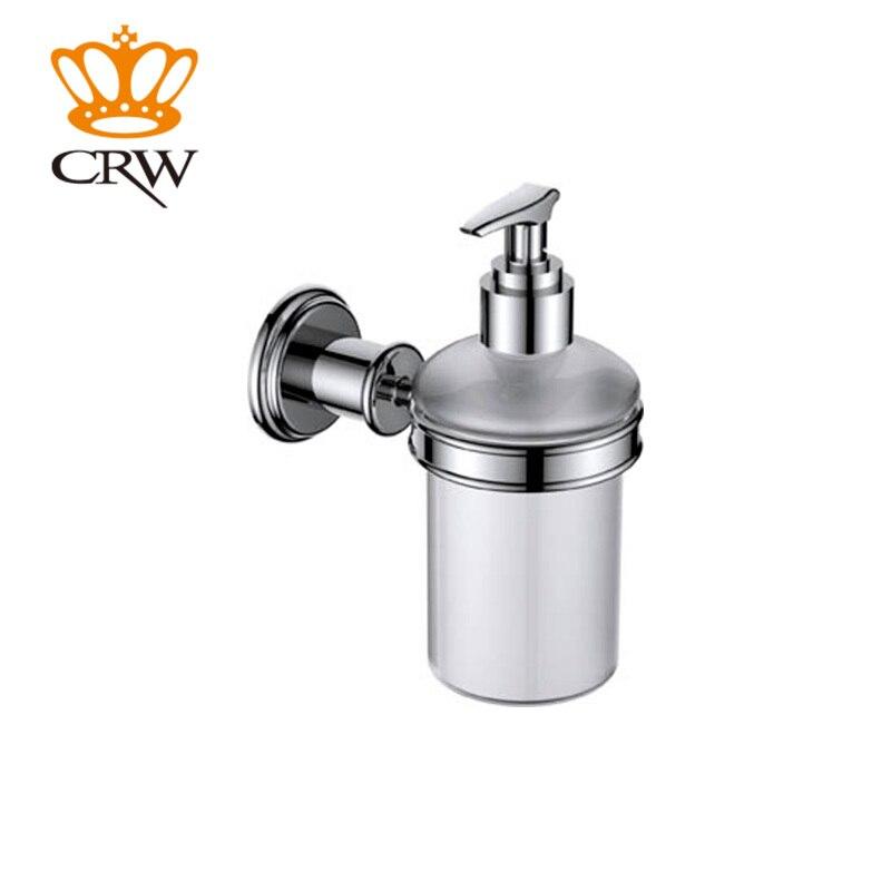 CRW support mural Style poussoir Type distributeur de savon liquide distributeur de savon liquide Anti-rouillé livraison gratuite offre spéciale