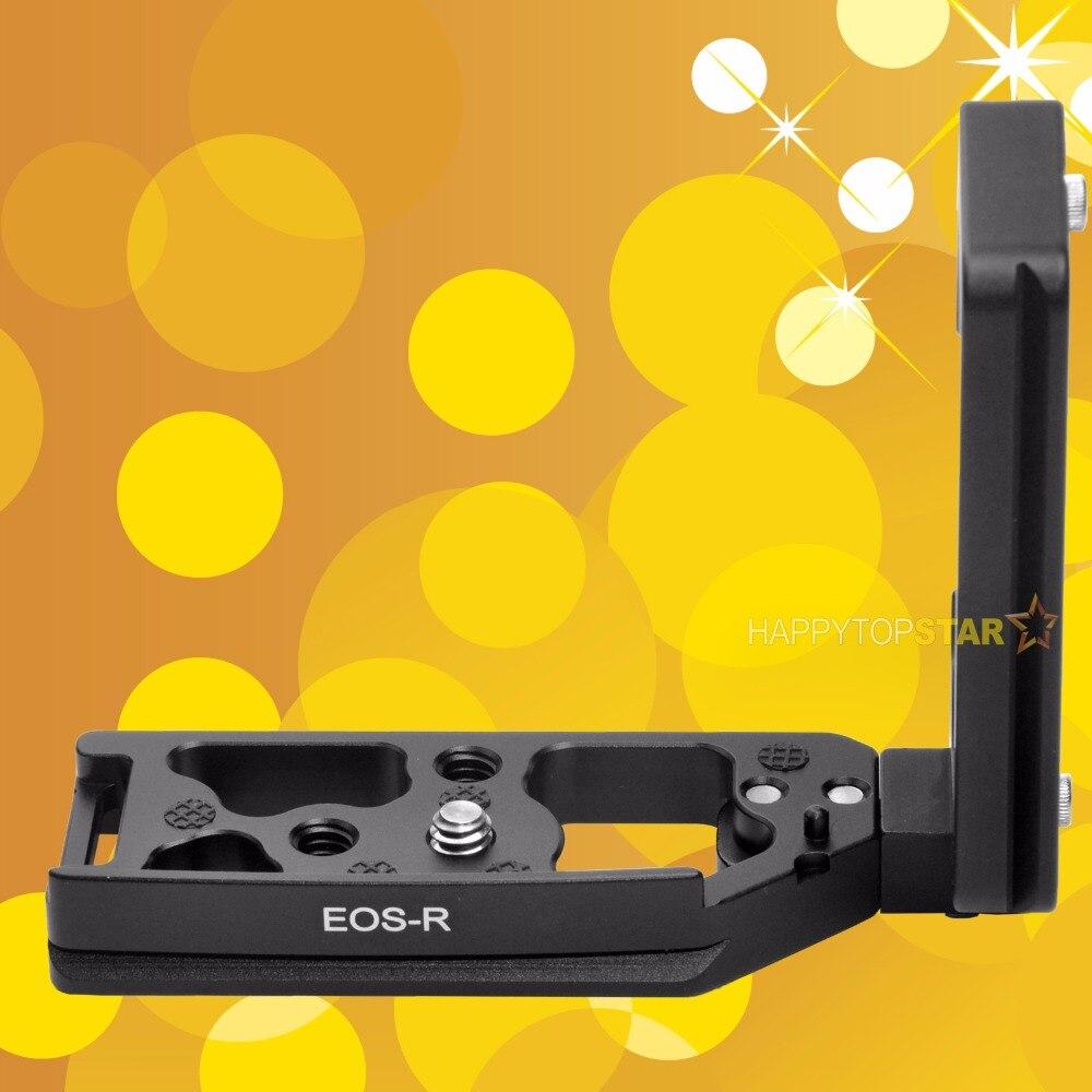 Vertical L-supporto QR Plate Hand Grip Holder per Canon 5DS Fotocamera